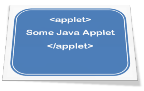 HTML Applet Tag